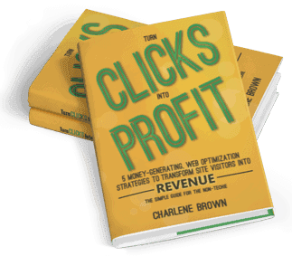 Turn Clips Into Profit Softcover Book by Charlene Brown