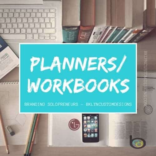 Solopreneur resoure Library: Planners and Workbooks