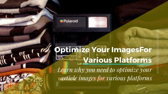 Optimizing Images for Different Social Media Sites
